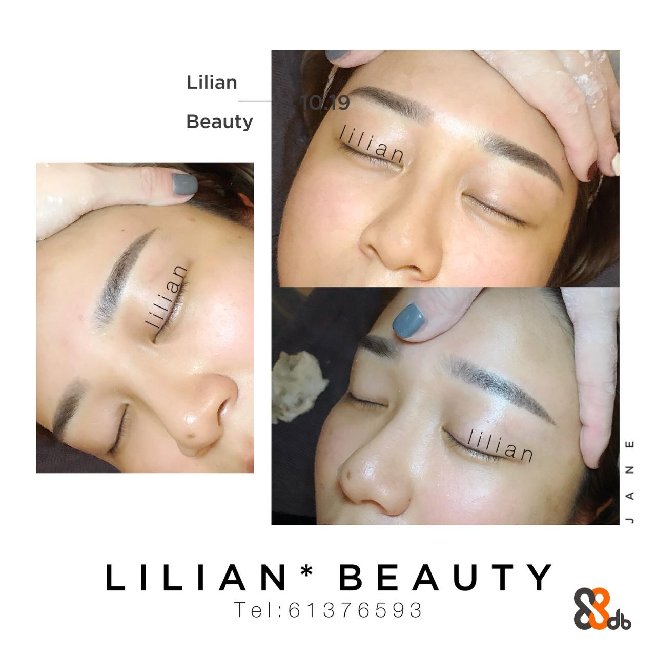Lilian 9 Beauty LILIAN* BEAU TY Tel:61 37659 3  eyebrow,face,skin,nose,cheek