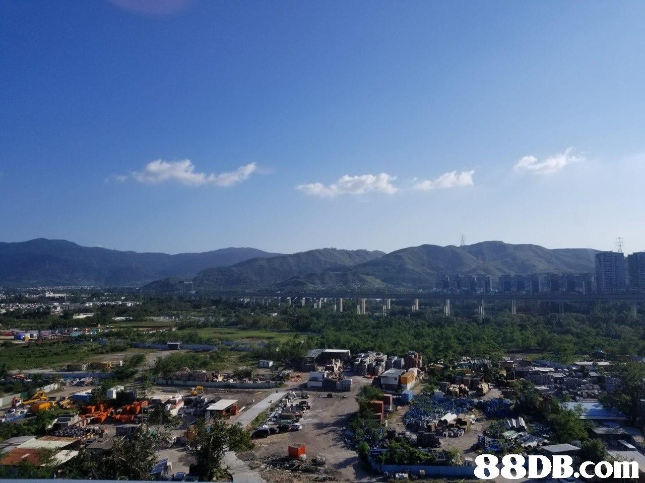 sky,city,bird's eye view,hill station,suburb