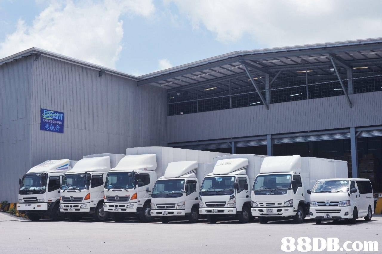 LOGISTICS GROUP LTD 海航倉 144   Land vehicle,Vehicle,Transport,Commercial vehicle,Car