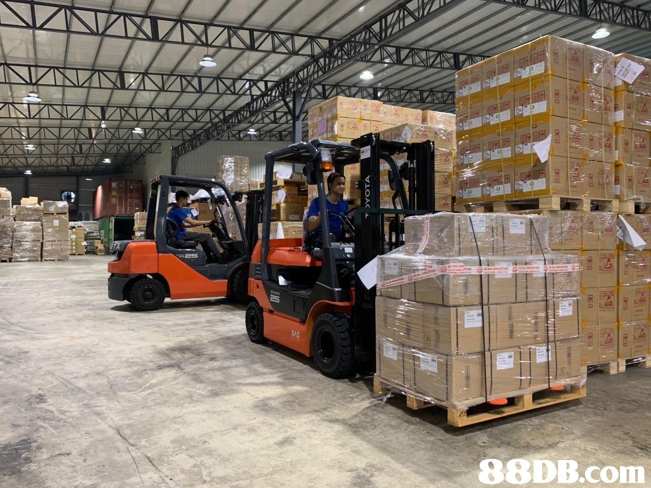 transport,forklift truck,warehouse,motor vehicle,warehouseman