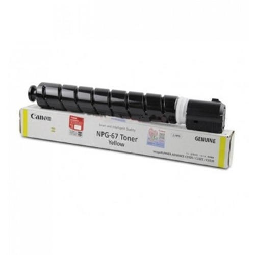 Canon GENUINE NPG-67 Toner Yellow  hardware,product,