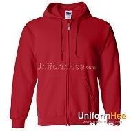 UniformFlse.cam UnifornH  hood,red,sweatshirt,hoodie,outerwear