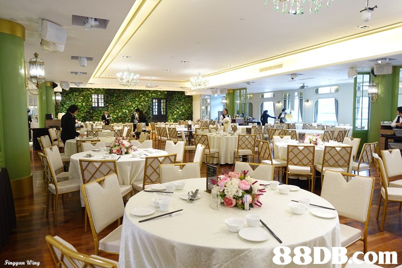 88DB Com Fingyan Wing  function hall,restaurant,