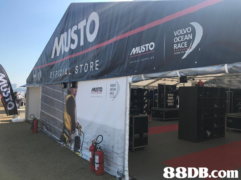 VOLVO OCEAN MUSTO RACE ROUND THE OREDIAL STORE OFFICIAL SUPPLIER VOLVO RACE mUSTO ns,car,transport,structure,vehicle,advertising
