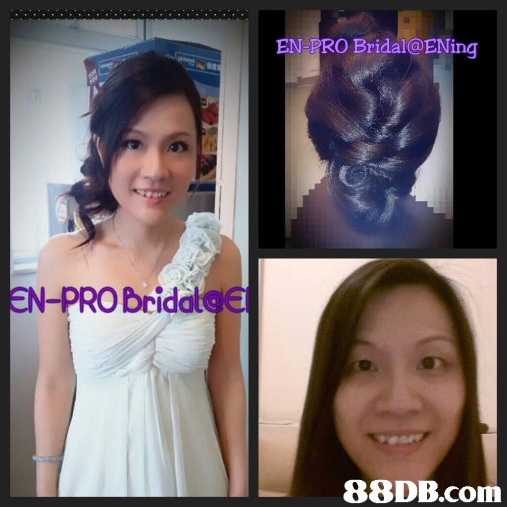 EN PRO Bridal@ENing EN-PROBridal@   hair,chin,nose,eyebrow,forehead