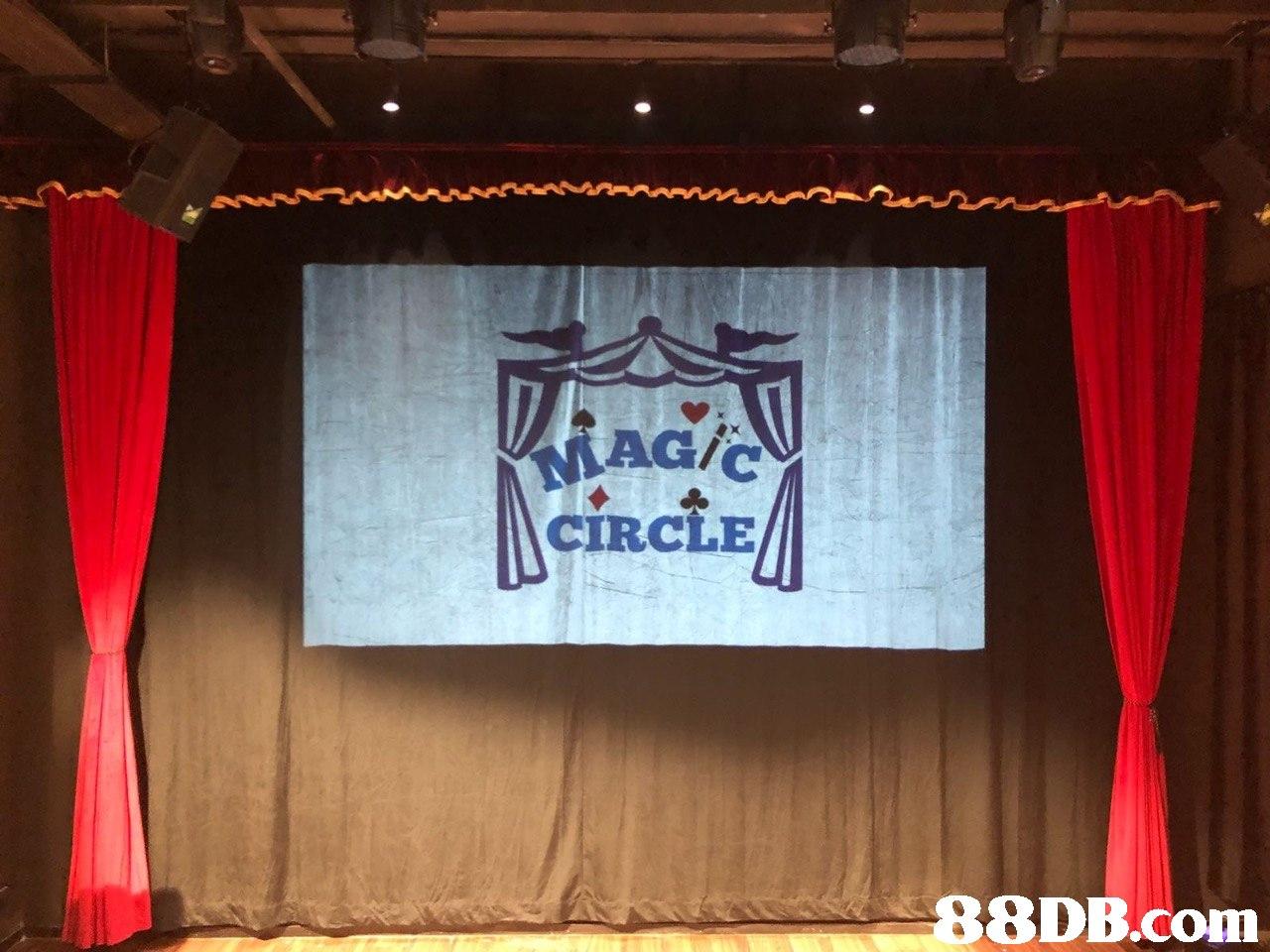 CIRCLE   stage,curtain,entertainment,theatre,textile