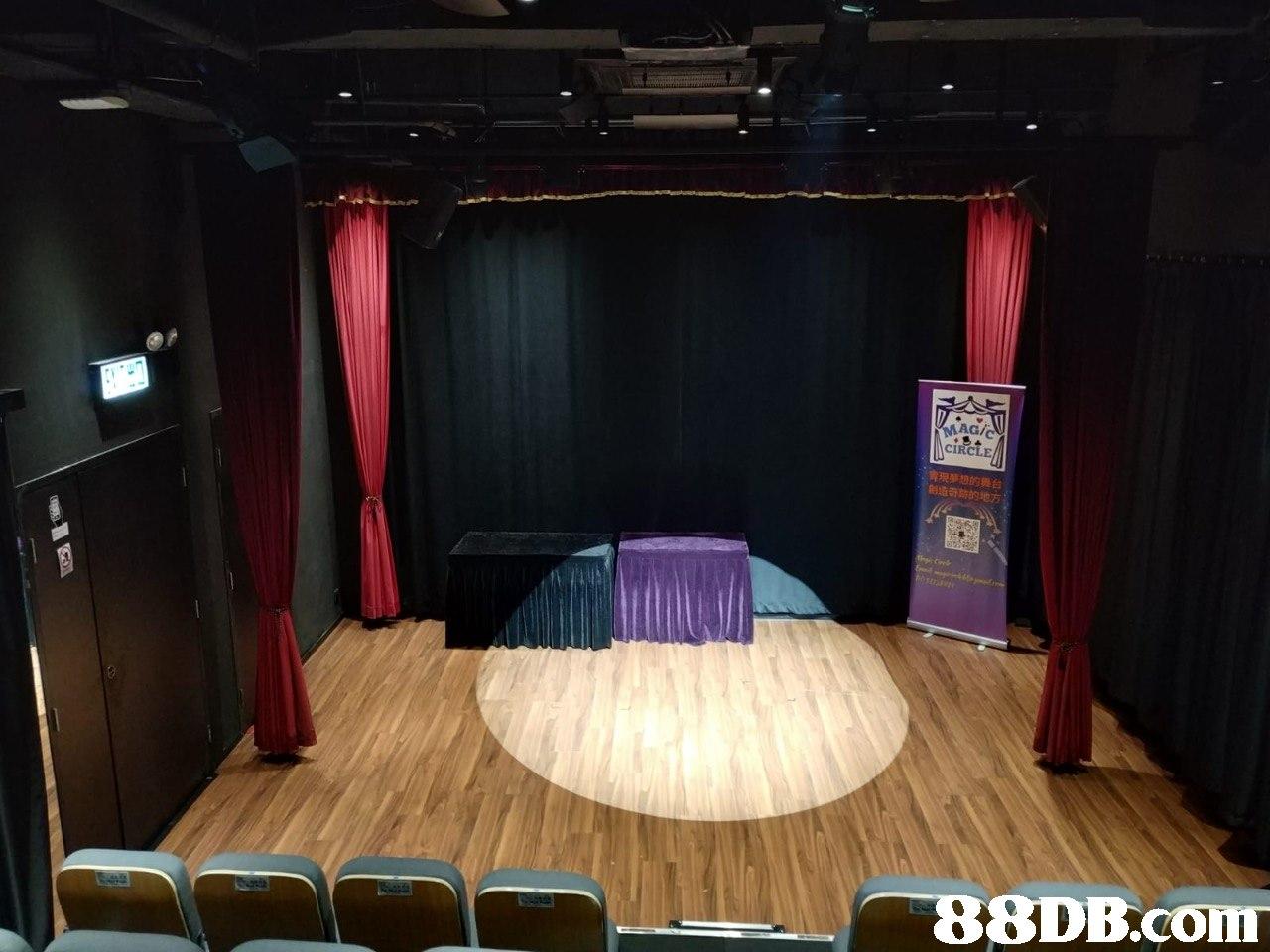 CIRCLE 現夢想的異台 刽造奇跡的地方 8DB.com  stage,entertainment,room,theatre,auditorium