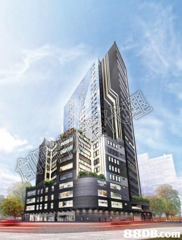 building,metropolitan area,commercial building,condominium,tower block