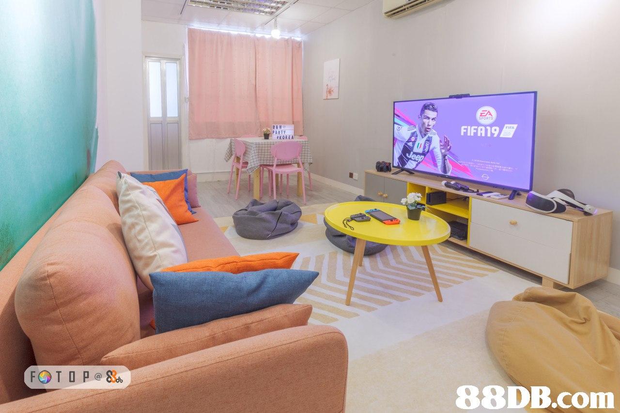 ZA SPORTS FIFA19 PARTY #KOREA   room,property,real estate,interior design,