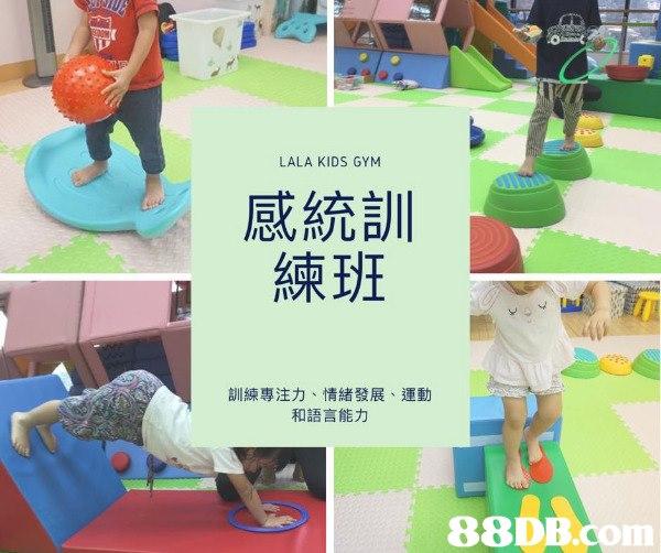 感統及大肌肉訓練 (BABY GYM)