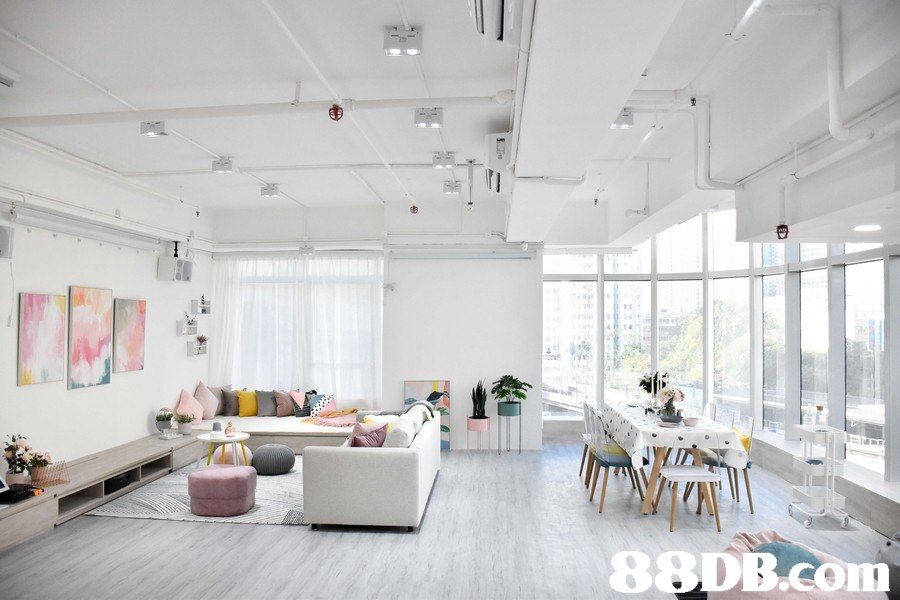 88DB.co  ceiling,interior design,living room,daylighting,loft