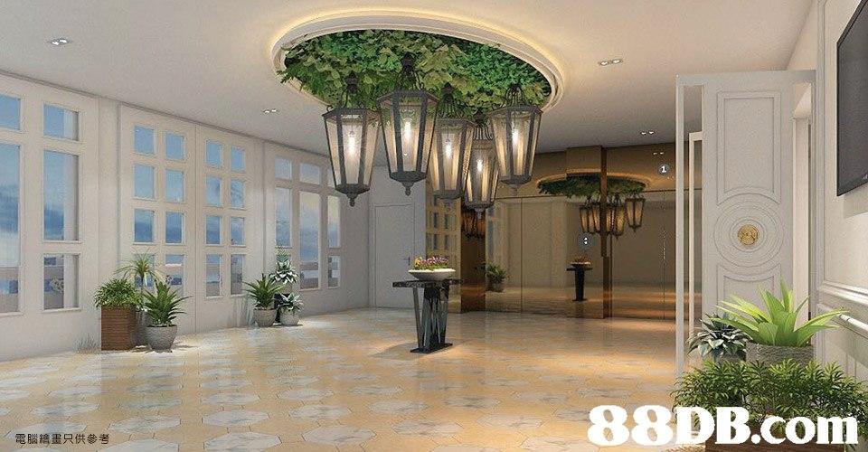 電腦繪畫只供參考  property,lobby,estate,interior design,home