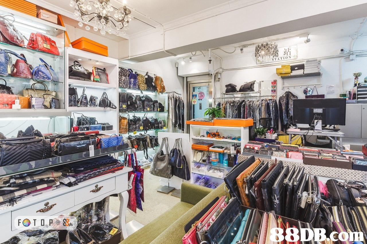 TATION 8  retail,