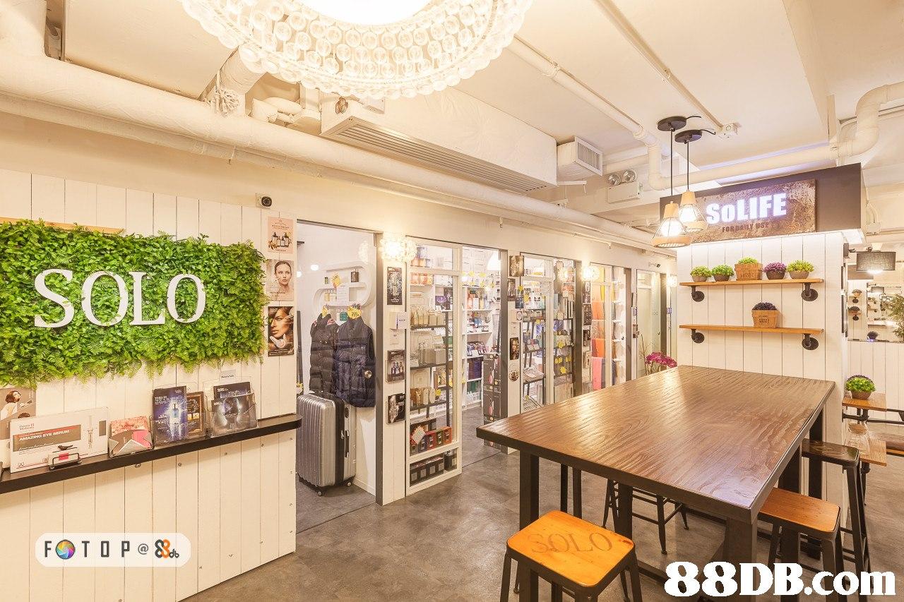 SOLIFE SOLO   interior design,retail,real estate,