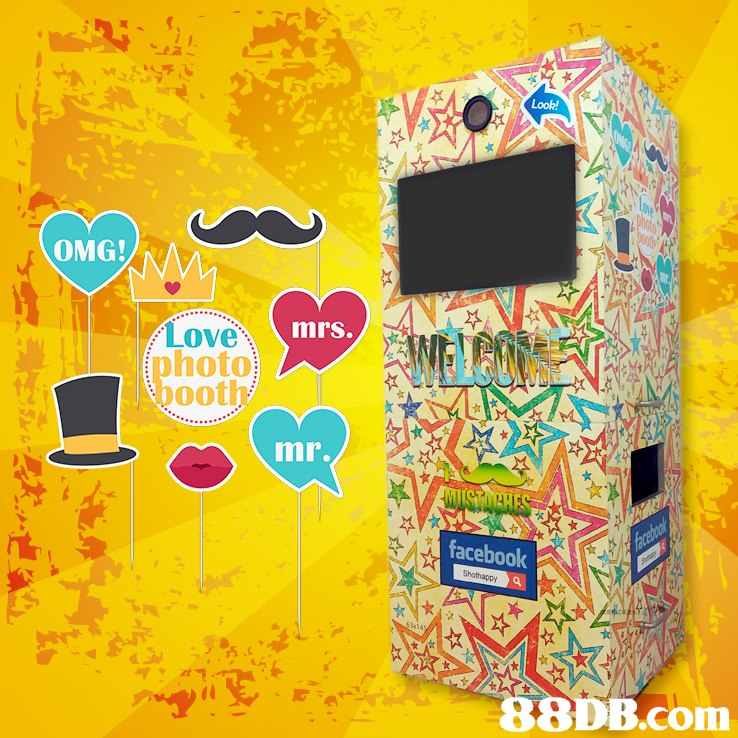 Look OMG!/N mrs. Love hoto ooth mr. facebook   yellow,product,product,font