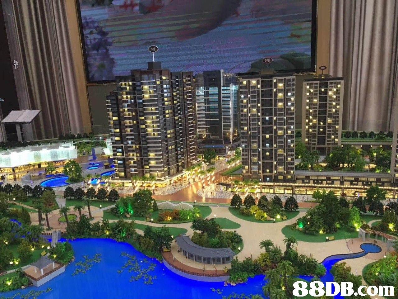 metropolitan area,condominium,city,metropolis,mixed use