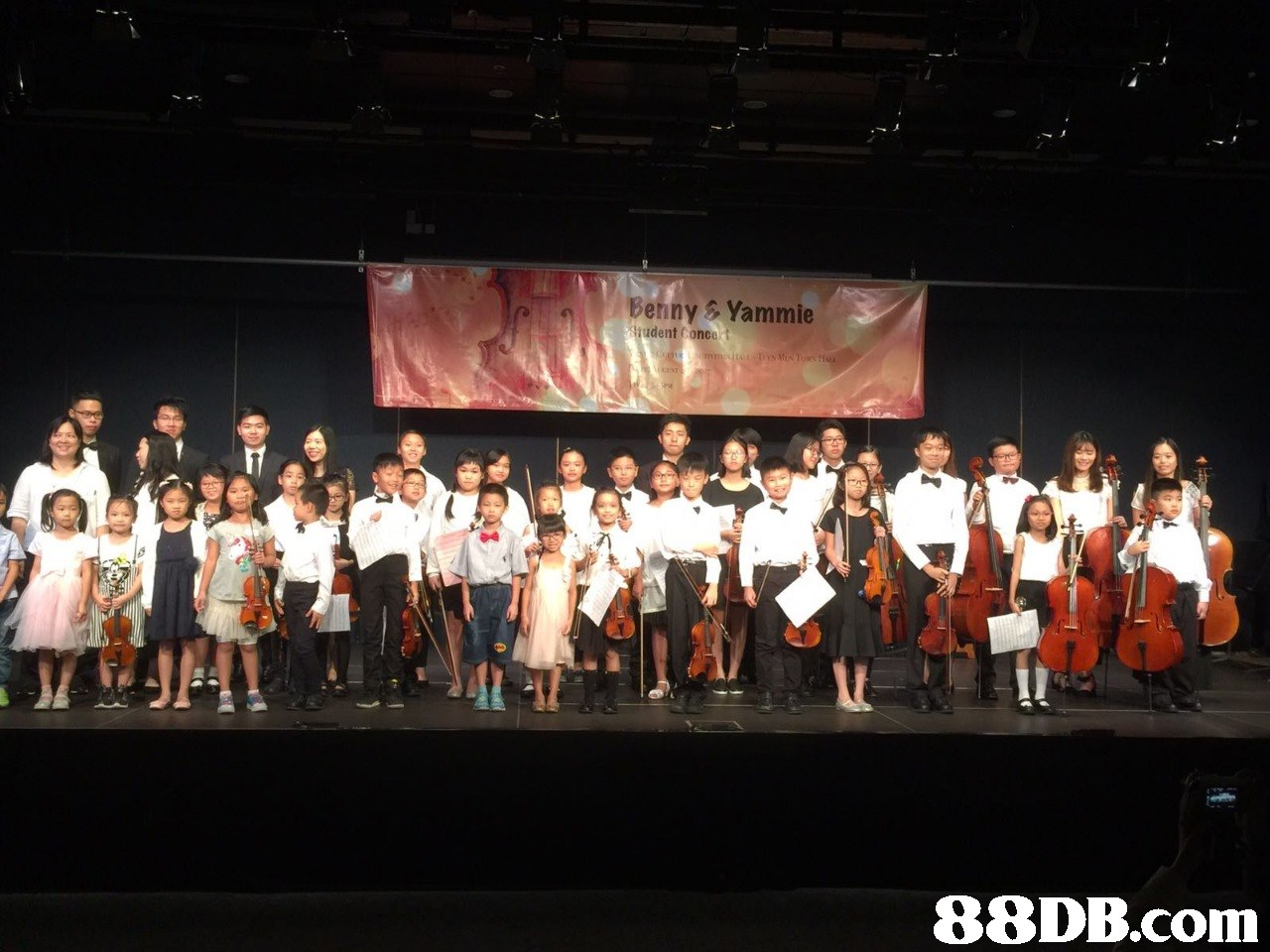 Behny Yammie udent Conco   stage,performance,concert,musical ensemble,orchestra