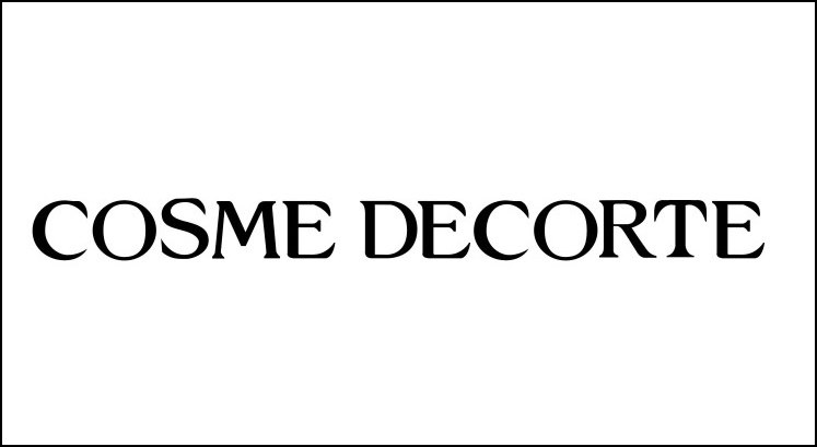 COSME DECORTE  text,black,font,black and white,line