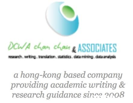 DuA chan ch&ASSOCIATES a hong-kong based company providing academic writing & research guidance since 2008  blue,text,green,font,product