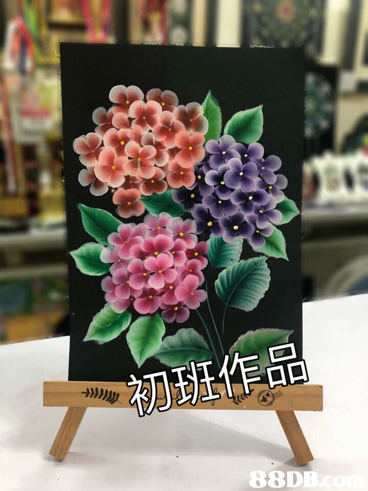 初班作品 88DE  flower,plant,flowerpot,flowering plant,artificial flower