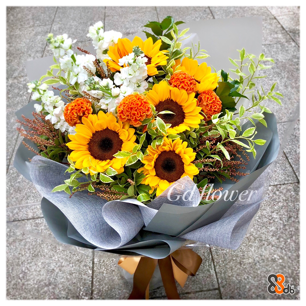 flower,flower bouquet,sunflower,yellow,floristry
