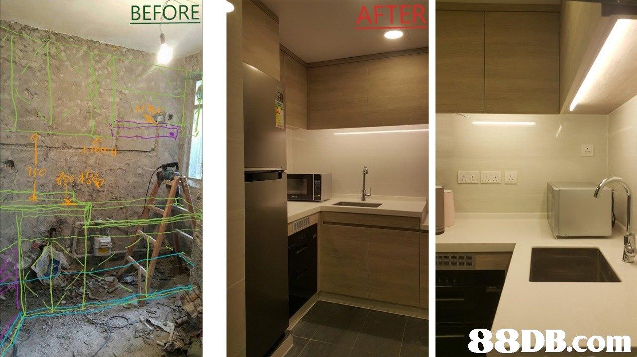 BEFORE AFTER   property,room,interior design,real estate,home