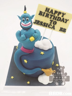 HAPPY BIRTHDAY TO JESSICA BB Ken 沜菓子工房 Cake Fac  cake,birthday cake,fondant,sugar paste,cake decorating
