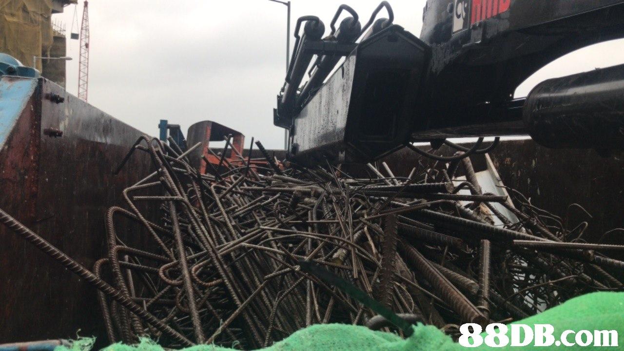 scrap,metal,vehicle,