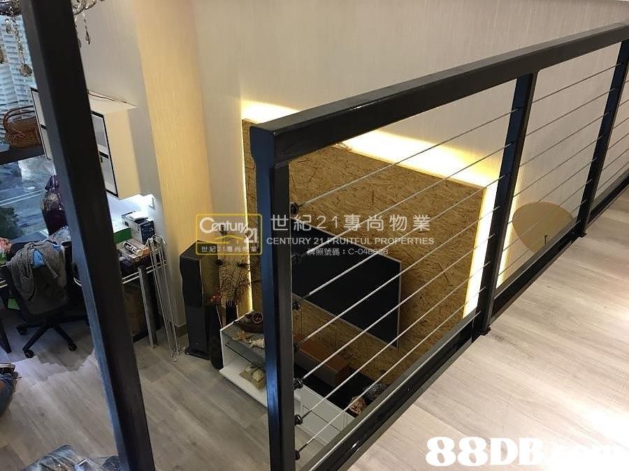 物 CENTURY 2 UL PROPERTIES 世 1専尚 號碼:C 88D  property,handrail,iron,glass,product