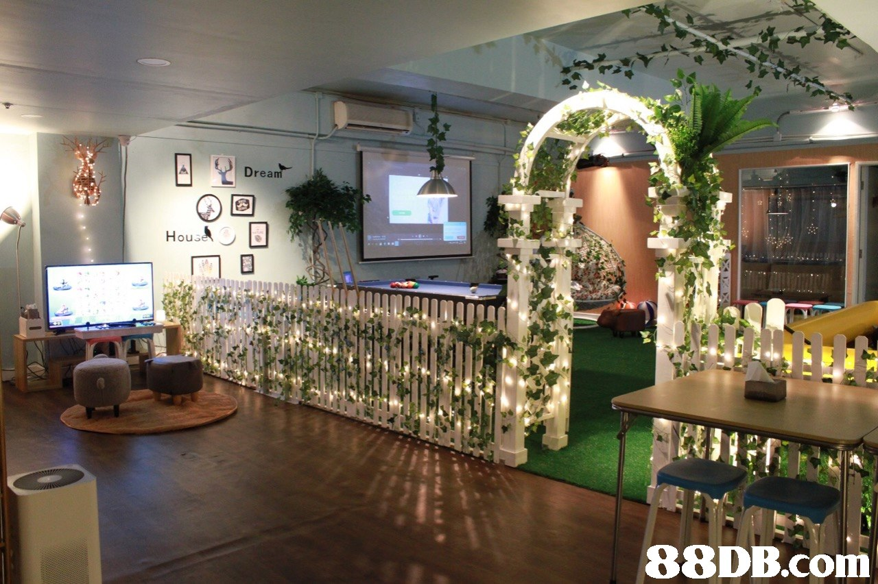 Drea㎡   function hall,flower,floristry,lobby,interior design