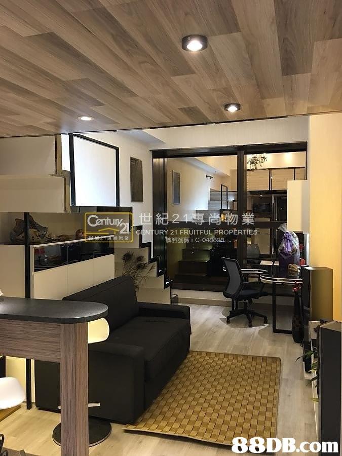 Century URY 21 FRUITFUL PROPERTİE 物業   interior design,ceiling,living room,lobby,loft