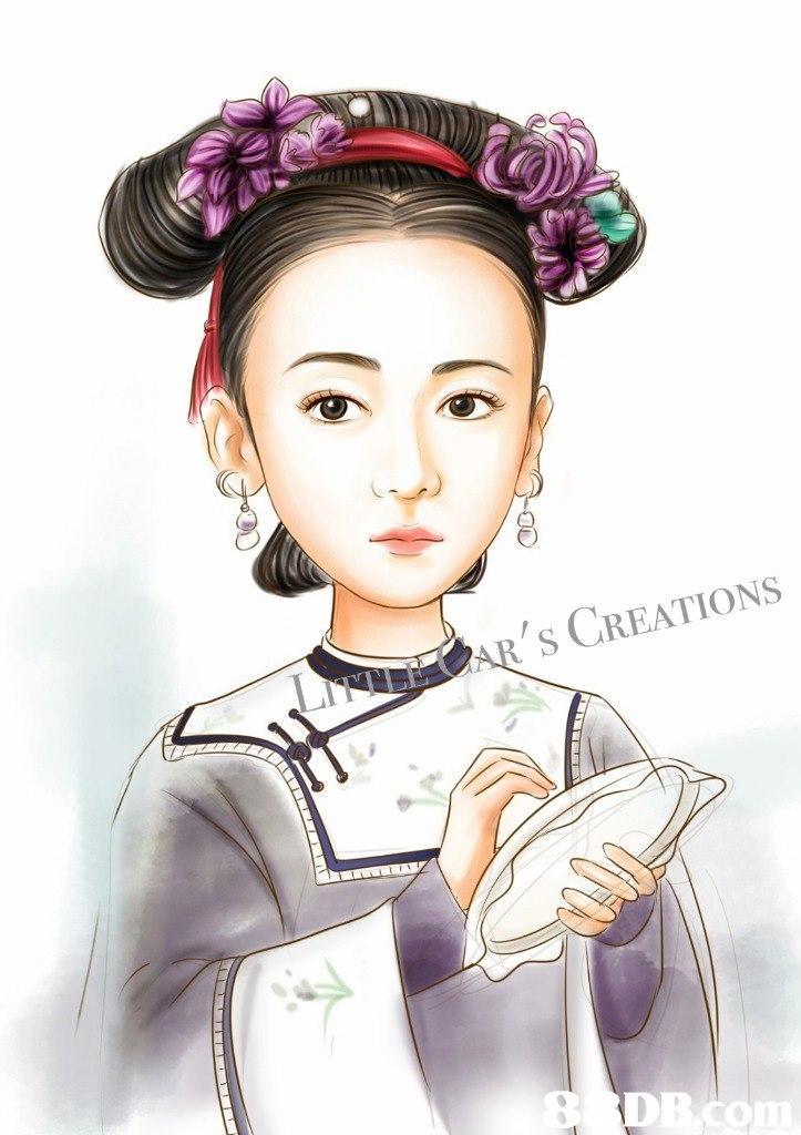 'S CREATIONS DBCO  Hair,Hairstyle,Cartoon,Illustration,Forehead