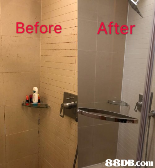 Before After   Property,Room,Wall,Bathroom,Real estate