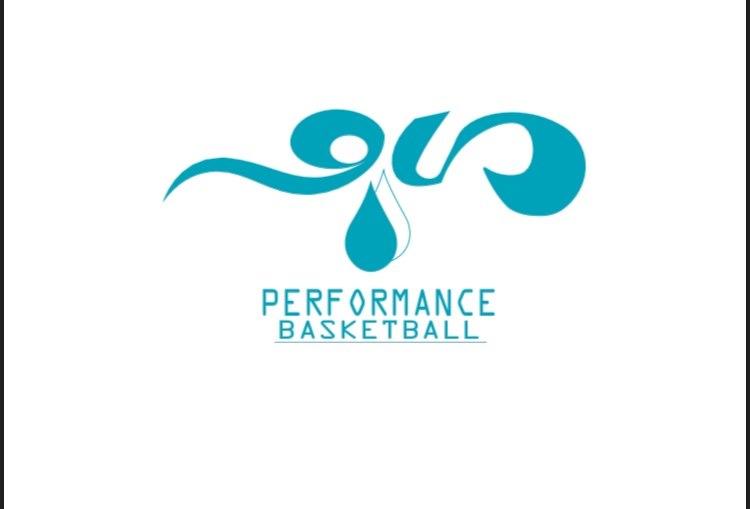 PERF ORMANCE BASKETBALL  Logo,Text,Aqua,Turquoise,Font
