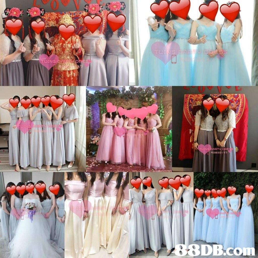 DINS DAF TV DRE 8DB.com  Bridesmaid,Clothing,Dress,Pink,Peach