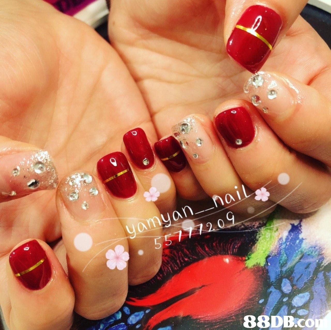 0 88DB.co  Nail polish,Manicure,Nail,Nail care,Finger