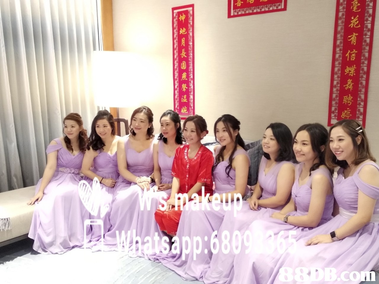 app:680 B.con 毫花有信蝶舞聘婷  Bridesmaid,Event,Lady,Dress,Fun