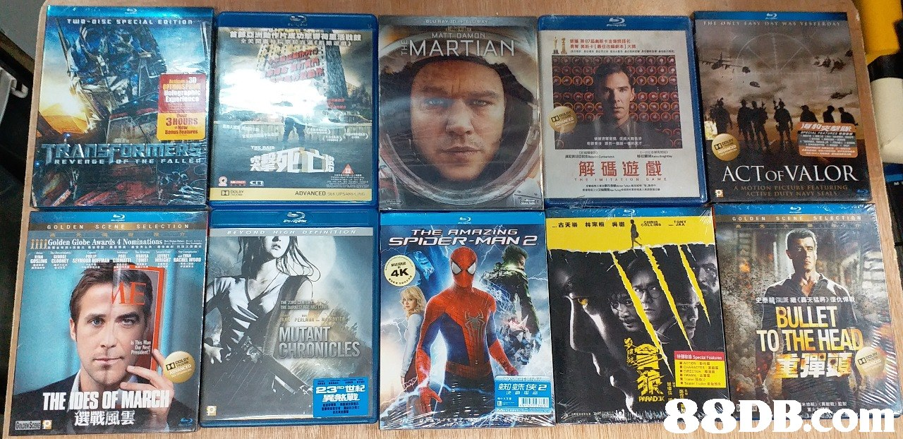ARTIAN 3HOURS onus Fealures REVENGE OF THE FALLE 解碼遊戲 ACTOFVALOR A MOTION PICTURE FEATURING GOLDEN S CEN SELECTION THE AMAZING SPIDER-MAN 2 || Golden Globe Awards 4 Nominations . 4K THE MUTANT CHRANICLES BULLET TOTHE H 蜘蛛侠2 THE DES OFMARCH 88DB.co  Hero,Fictional character,Action figure,Movie,Collection