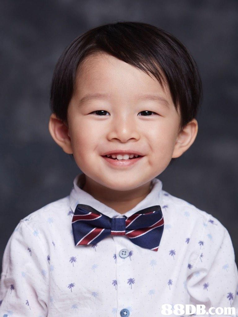 0 8 8DB.com  Child,Bow tie,Chin,Tie,Child model