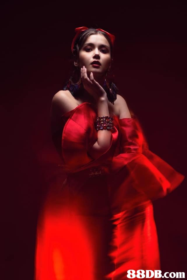 Red,Performance,Beauty,Performing arts,Event