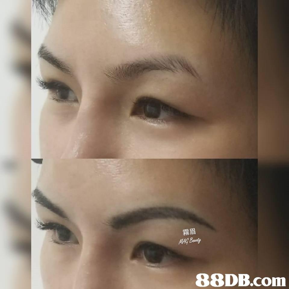 霧眉   Eyebrow,Face,Skin,Eyelash,Eye