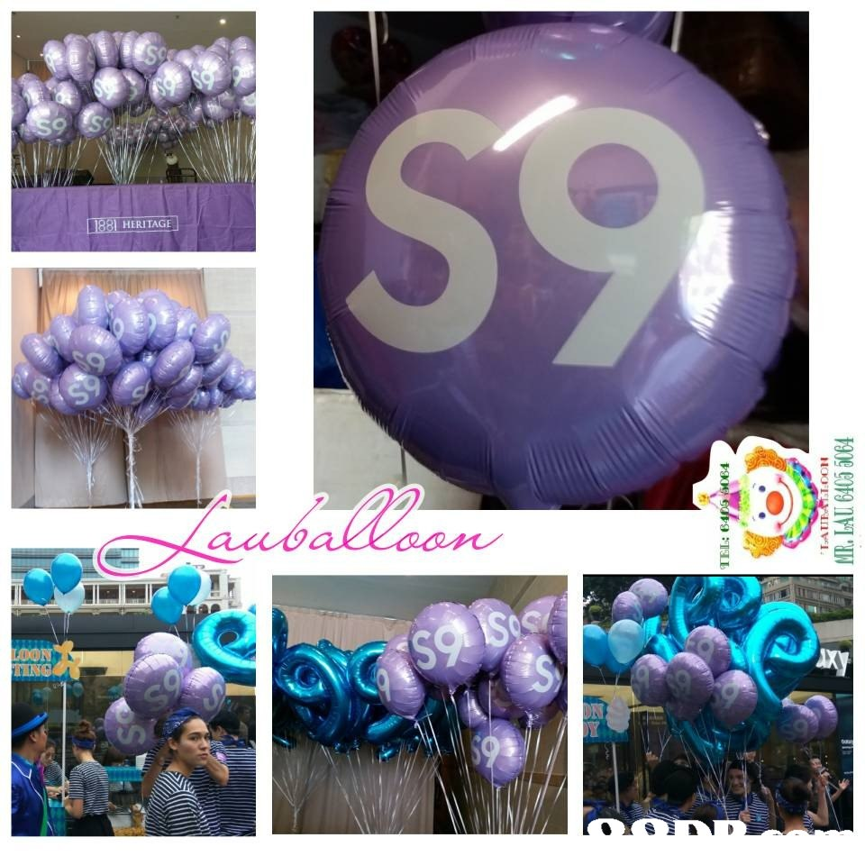 HERITAGE balla  Balloon,Purple,Violet,Lavender,Party supply