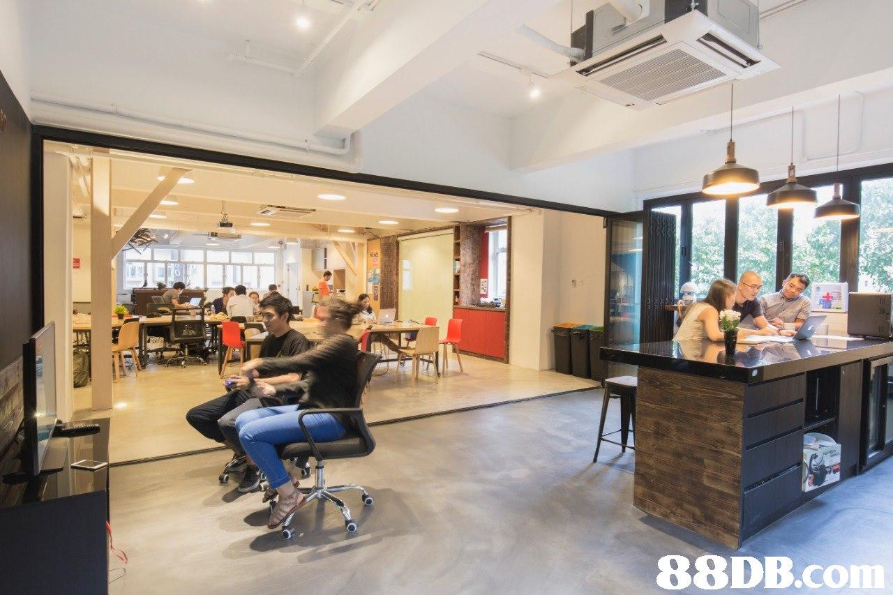 Building,Lobby,Property,Interior design,Room