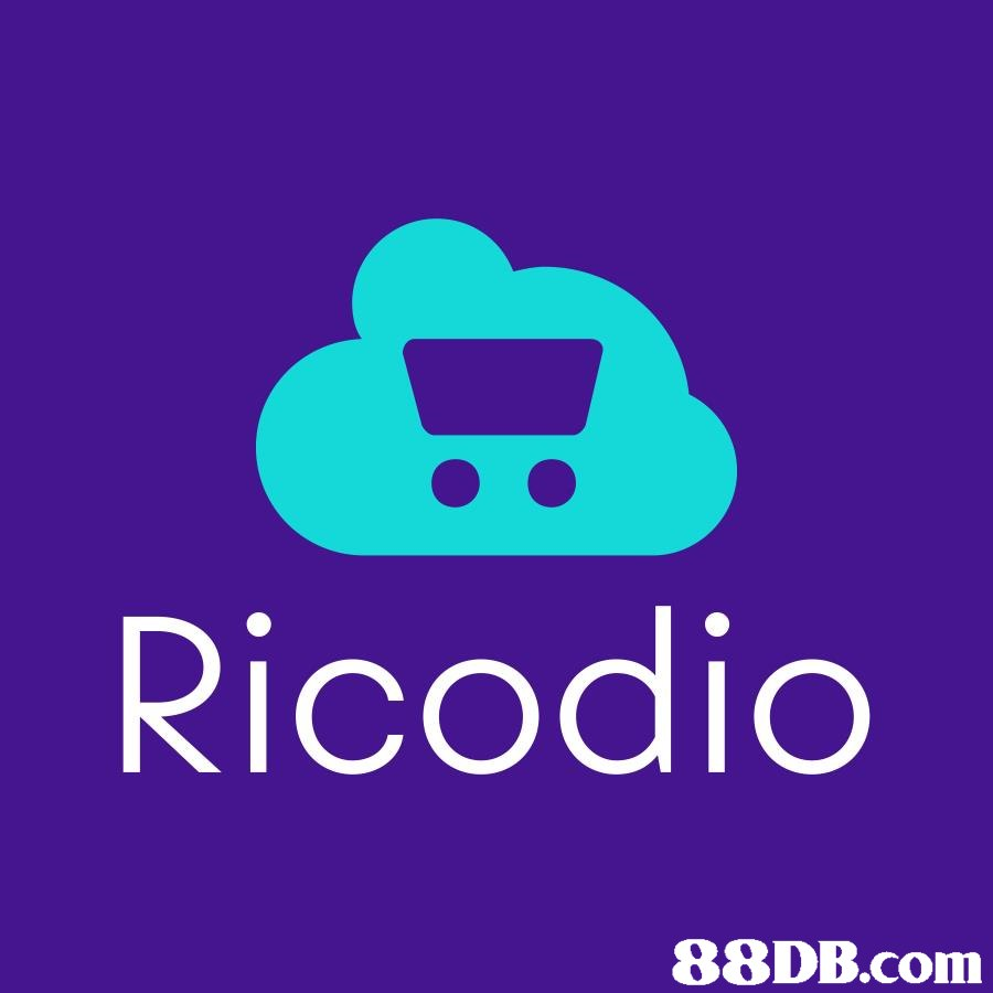 Ricodic   Logo,Purple,Violet,Text,Font