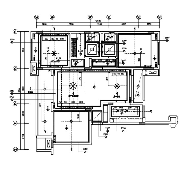 2150 800 2650 2550 2650  Technical drawing,Plan,Floor plan,Drawing,Diagram