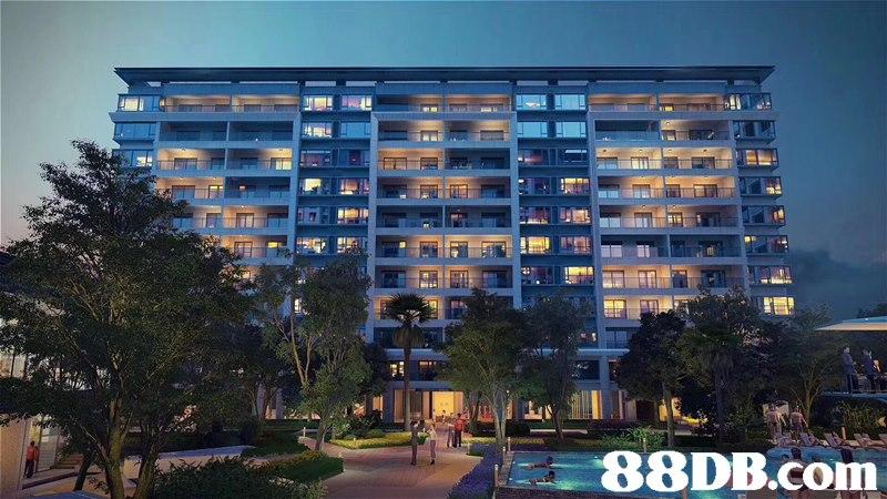 Condominium,Building,Property,Apartment,Residential area