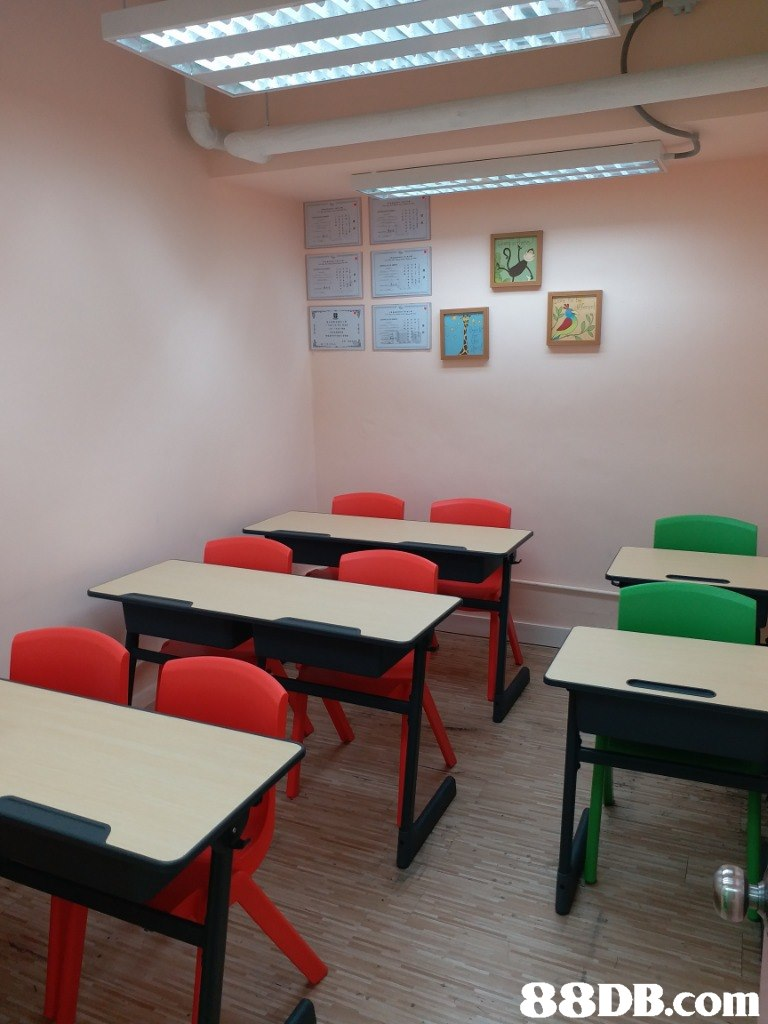 Room,Classroom,Table,Furniture,Interior design