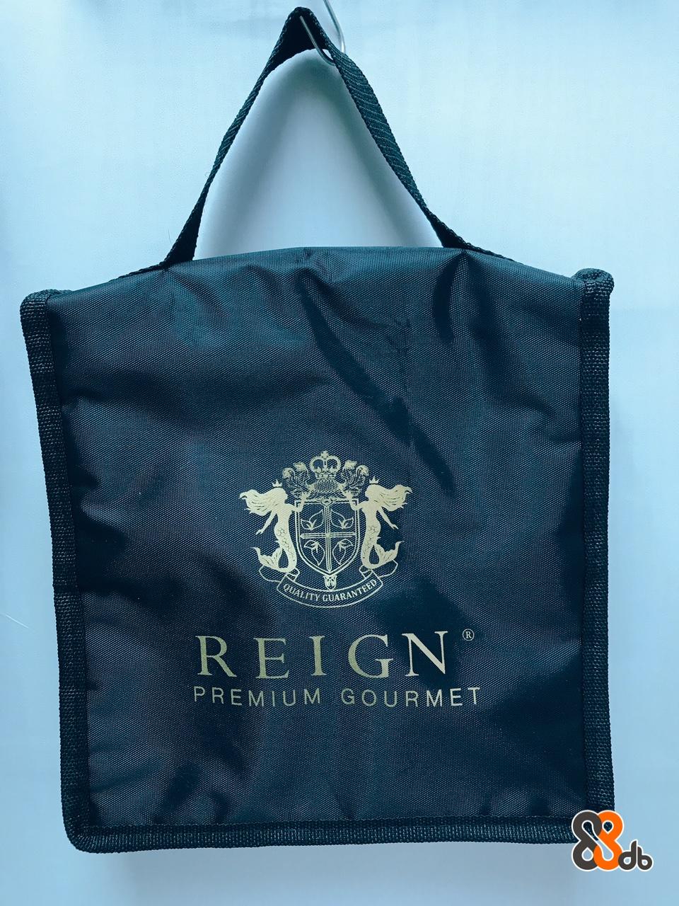 REIGN PREMIUM GOURMET db  Bag,Handbag,Blue,Product,Fashion accessory