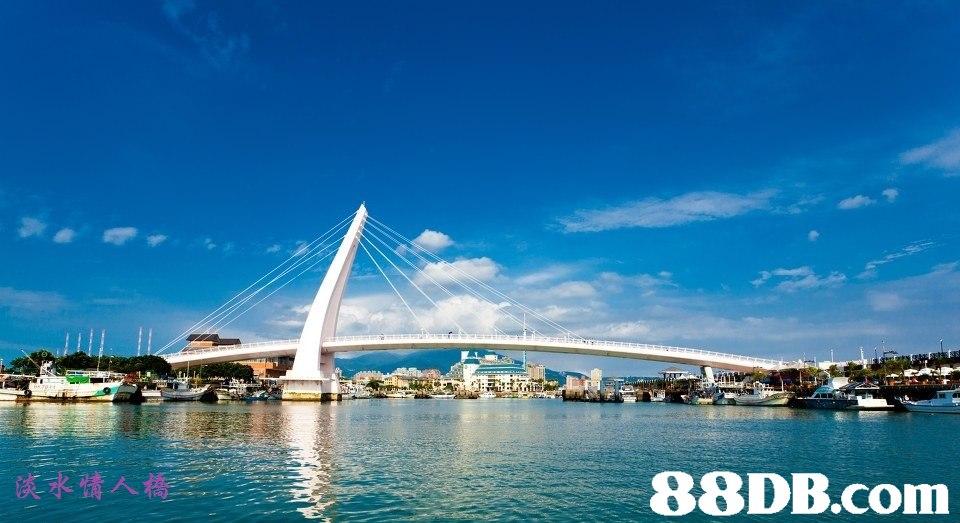 Sky,Landmark,Bridge,Fixed link,Water