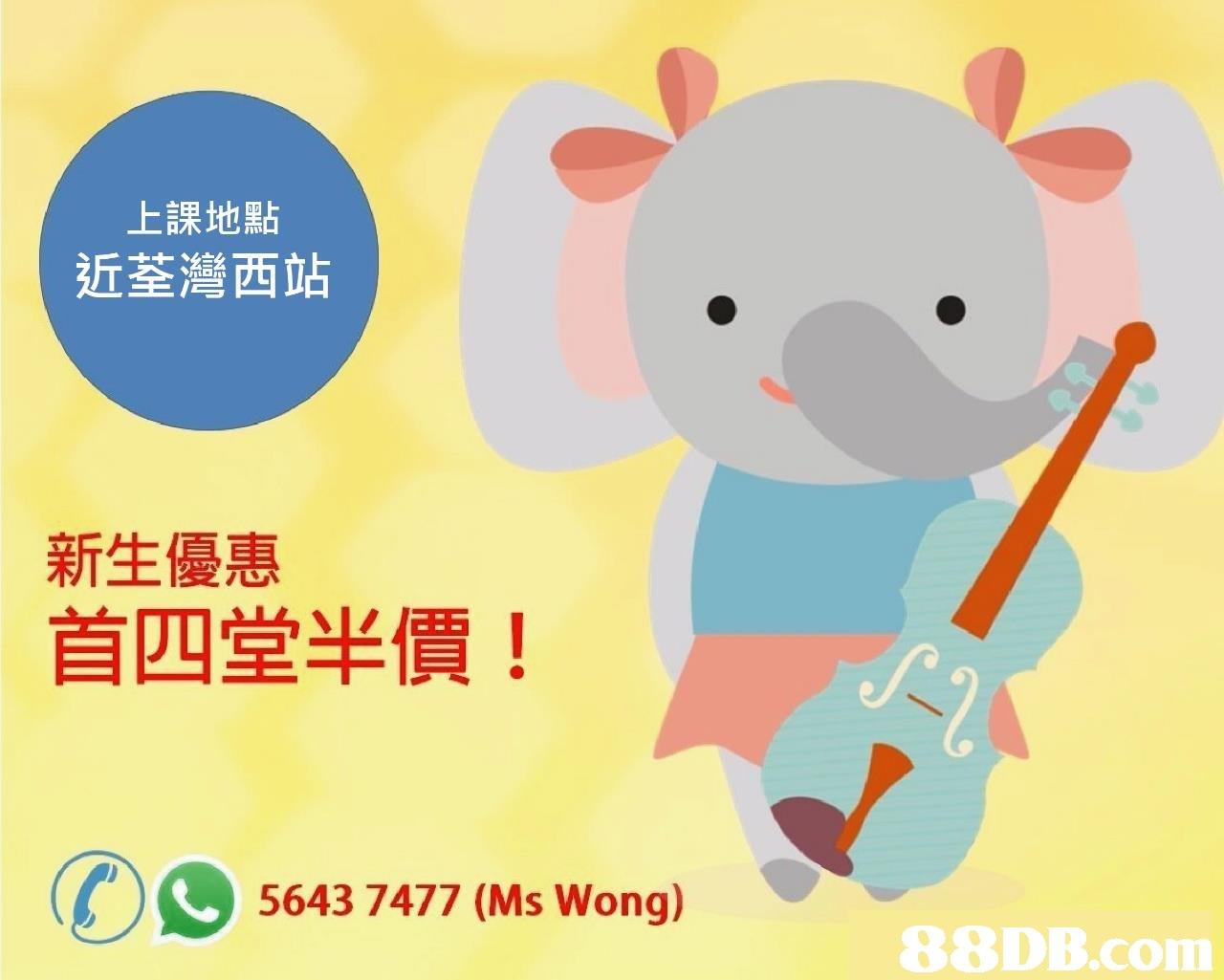 上課地點 近荃灣西站 新生優惠 首四堂半價! 5643 7477 (Ms Wong)   Cartoon,Text,Font,Line,Clip art